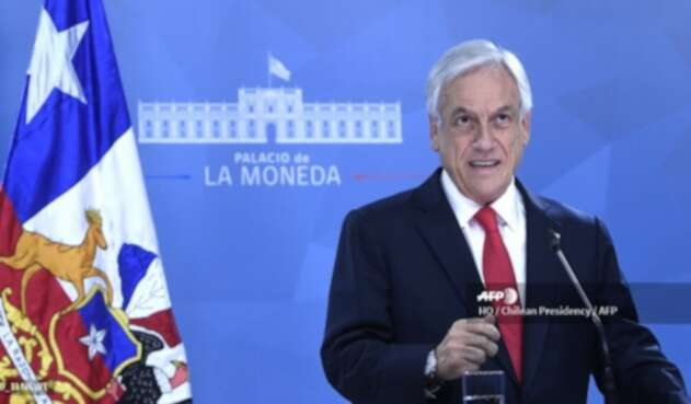 Sebastián Pinera, presidente chileno