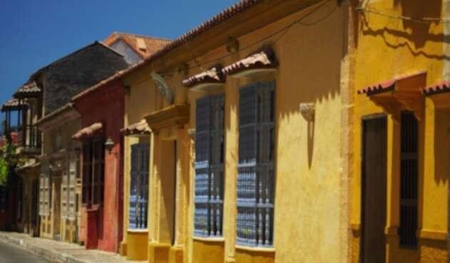 Las calles de Cartagena, Colombia