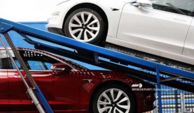 Vehículos eléctricos de Tesla