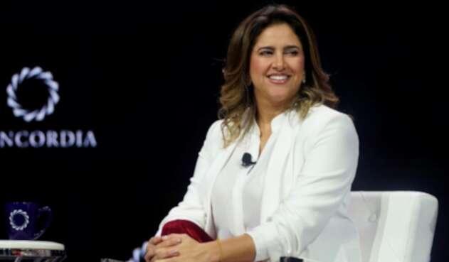 María Juliana Ruiz, primera dama de Colombia.