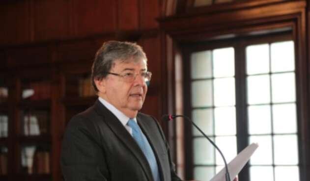 Canciller Carlos Holmes Trujillo García