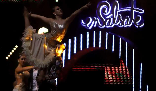 Salsa Show / Ensalsate / Bailarines / Salsa / Cali / Bogota
