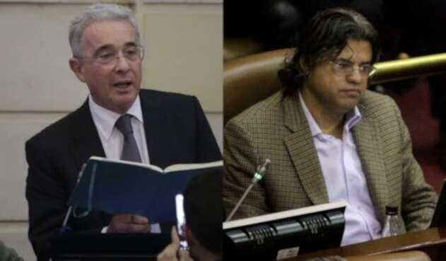 Álvaro Uribe y Wilson Arias, protagonistas de un careo en Senado.