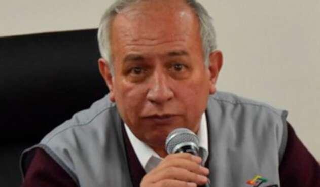 Antonio Costas, saliente vicepresidente del Tribunal Supremo Electoral de Bolivia