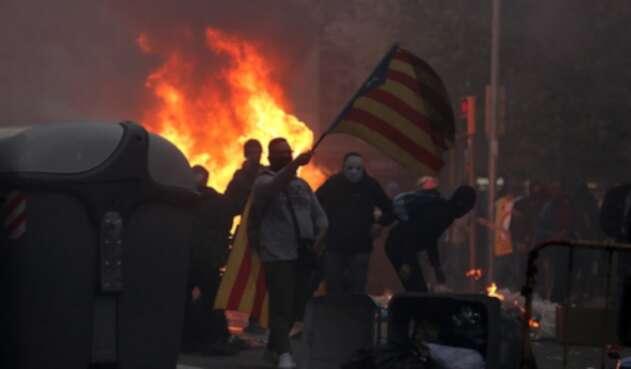 Barcelona, en medio de las protestas