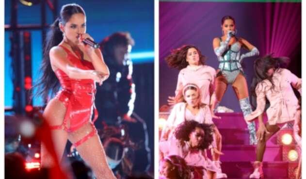 Becky G en los Latin AMAs 2019