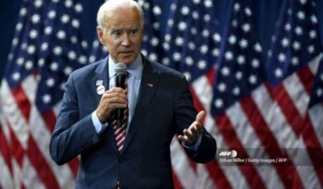 Joe Biden, rival de Trump en elecciones de 2020.
