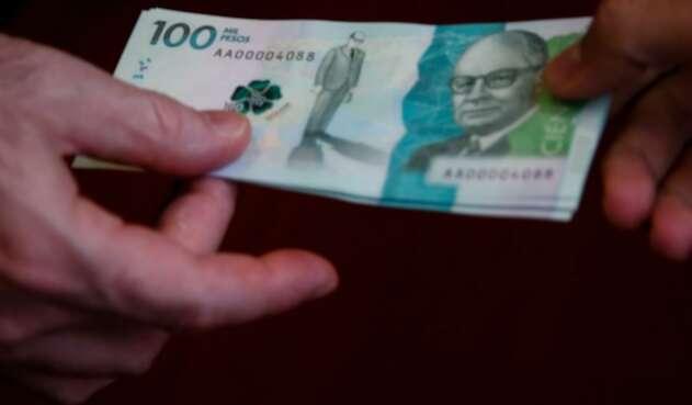 Billetes de $100.000