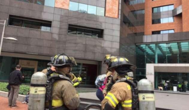 Explosión en edificio de Chapinero