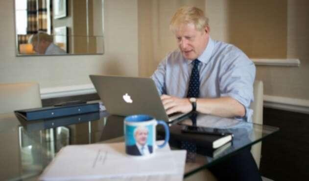 Primer ministro británico Boris Johnson