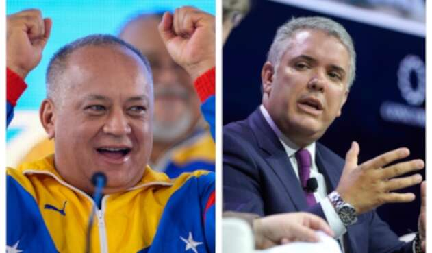 Diosdado Cabello se burló de Iván Duque