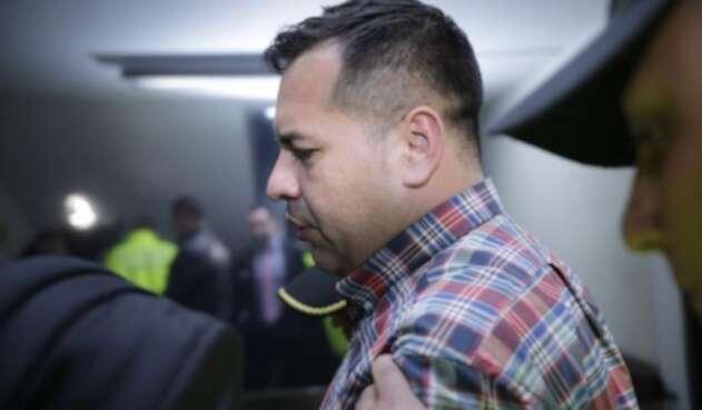 El capitán David Álvarez, supuestamente vinculado con la fuga de Aida Merlano