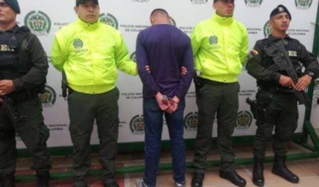 Fue capturado en un centro comercial de Floridablanca