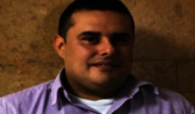 Carlos Andrés Amado Mejía, condenado por asesinar a su hijastro.