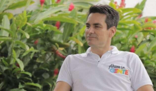 Carlos Ordosgoitia, aspira por el Partido Conservador.