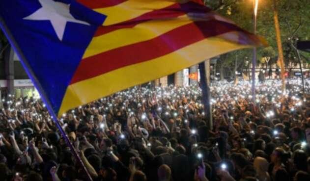 Segundo día de manifestaciones en Cataluña