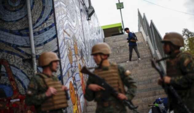 Chile militarizado