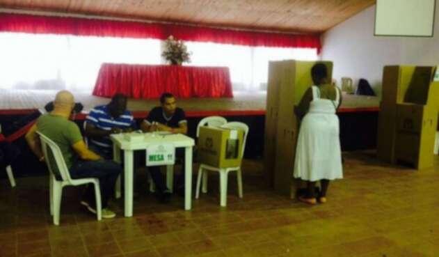 Elecciones en Chocó