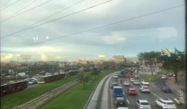 Varias estaciones de Transmilenio se han sido cerradas por las protestas