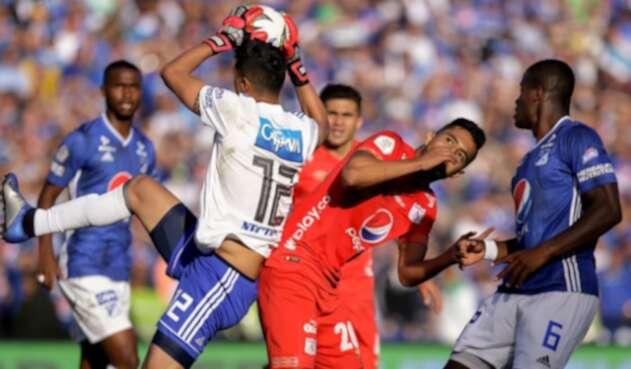 Millonarios vs América Liga Águila I 2019