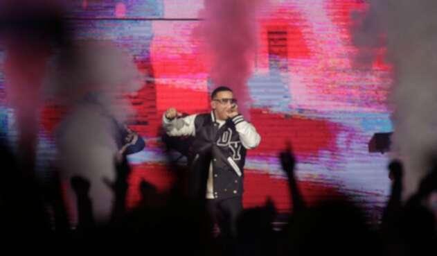 Daddy Yankee en concierto en Bogotá