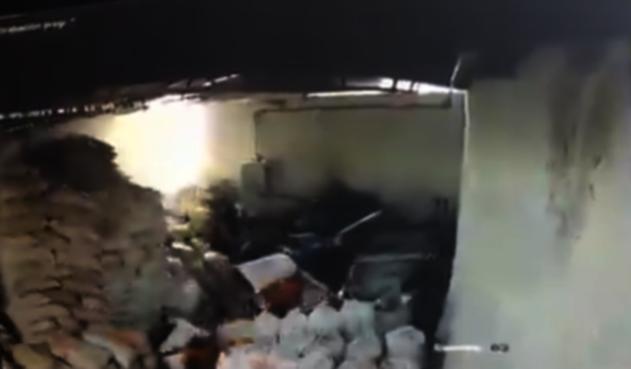 Desplome de techo en Medellín