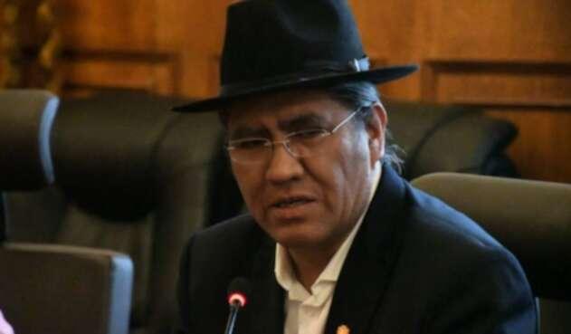 Diego Pary Rodríguez, canciller de Bolivia
