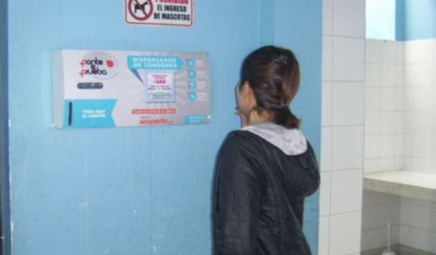 Dispensadores de condones en Bogotá