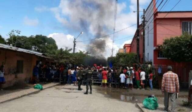 Disturbios en Nechí, Antioquia