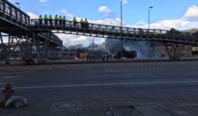 Calle 26 disturbios