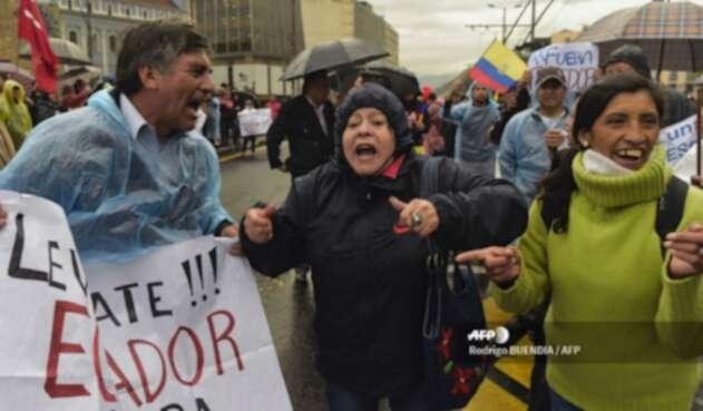 Protestas en Ecuador por aumento de la gasolina