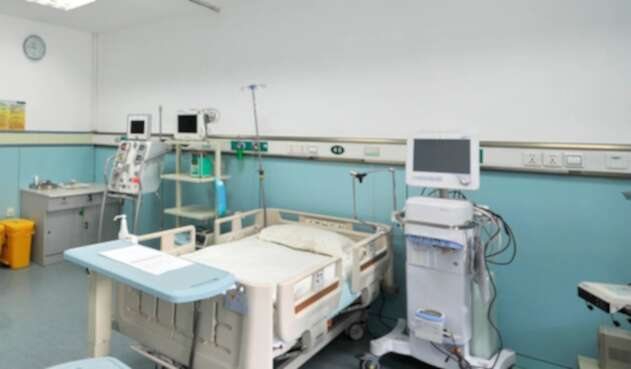 Foto de referencia de un centro médico