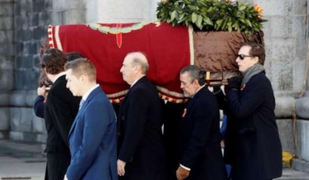 Exhumación de los restos del dictador Francisco Franco