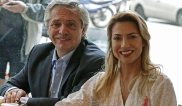Alberto Fernández, nuevo presidente de Argentina, y Fabiola Yáñez, la actriz y periodista primera dama