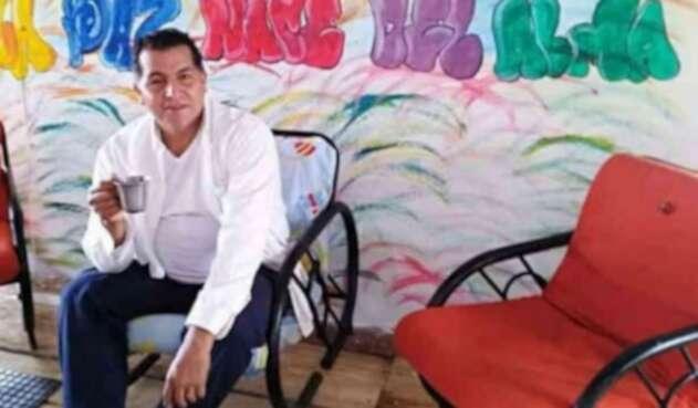 Alexander Parra, exguerrillero de las Farc