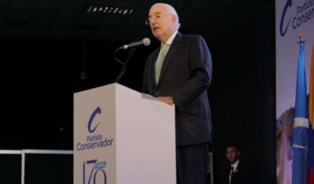 Expresidente Andrés Pastrana Partido Conservador