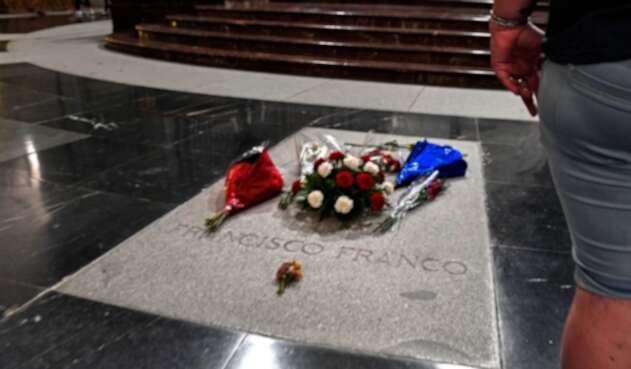 Tumba de Francisco Franco en España