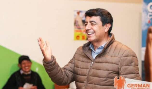 Germán Chamorro De La Rosa, nuevo alcalde Pasto