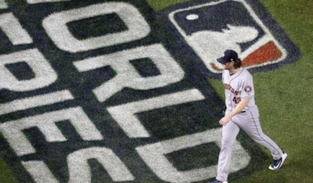 Gerrit Cole, abridor derecho de los Astros de Houston