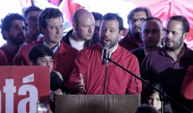 Carlos Fernando Galán y su discurso tras perder la Alcaldía de Bogotá
