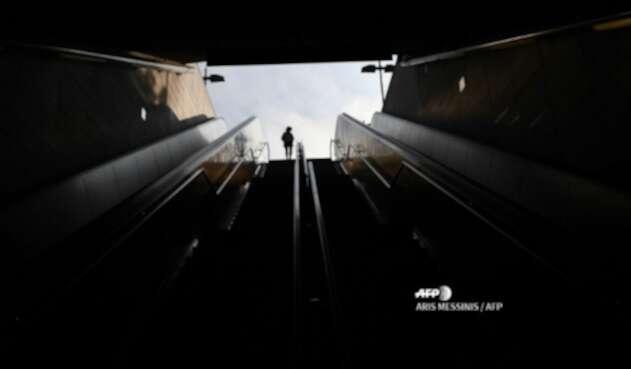 Metro en Atenas