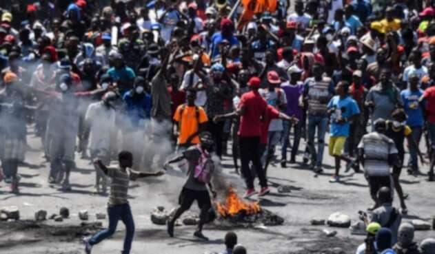 Manifestaciones en Haiti