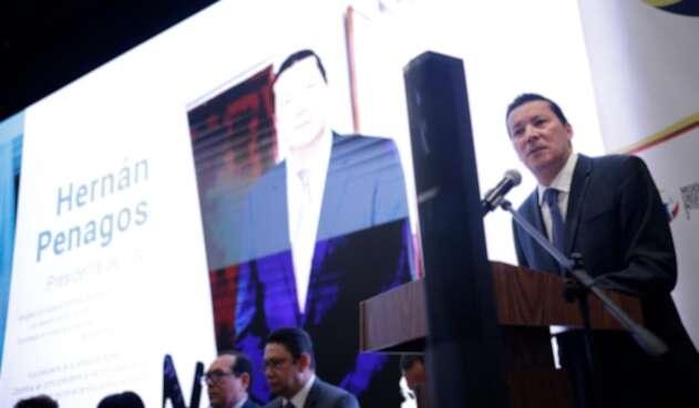 Hernán Penagos, presidente del Consejo Nacional Electoral