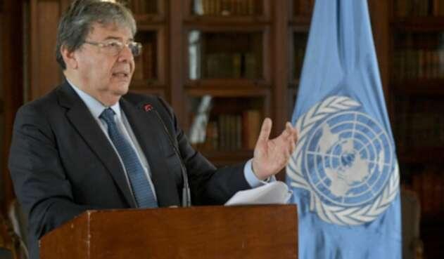 Carlos Holmes Trujillo, ministro de Relaciones Exteriores de Colombia
