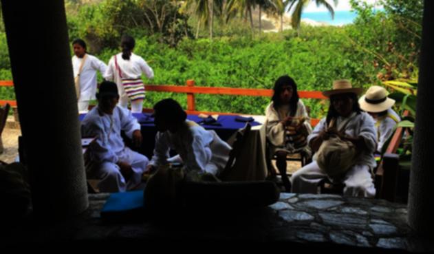 Comunidades Kogui y Wiwa