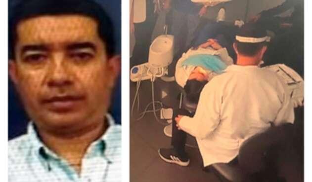 Javier Guillermo Cely Barajas, el odontólogo de la excongresista Aida Merlano