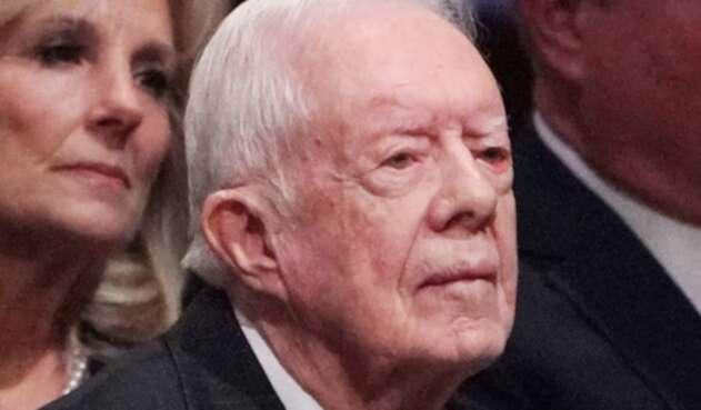 Jimmy Carter, expresidente de Estados Unidos