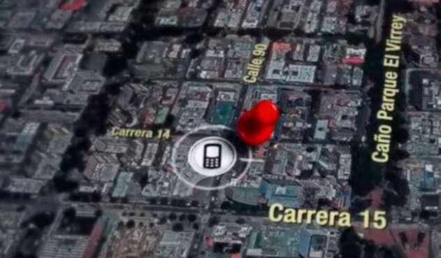 El lugar desde donde salieron las llamadas del celular de Luis Andrés Colmenares