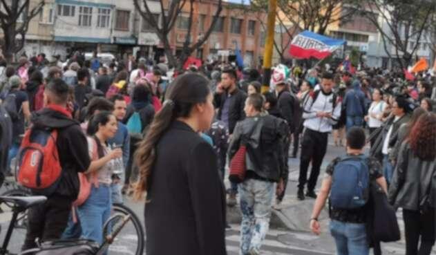 Marcha de estudiantes, 31 de octubre de 2019