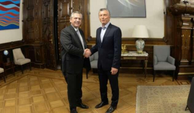 Mauricio Macri se reunión con Alberto Fernández tras elecciones presidenciales
